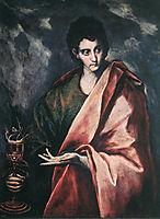 St. John the Evangelist, c.1604, greco