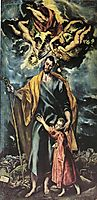 St. Joseph and the Christ Child, 1599, greco