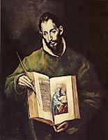 St. Luke, c.1605, greco