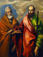 St. Paul and St. Peter, c.1595, greco