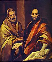 St. Peter and St. Paul, c.1607, greco
