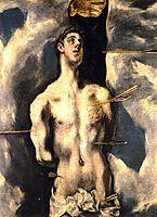 St. Sebastian, c.1612, greco