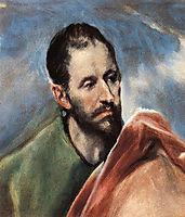 Study of a Man, c.1595, greco