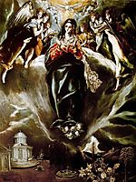 The Virgin of the Immaculate Conception, c.1610, greco