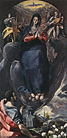 The Virgin of the Immaculate Conception and St. John, 1585, greco