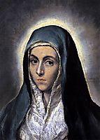 Virgin Mary, c.1585, greco