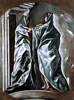 The Visitation, c.1610, greco