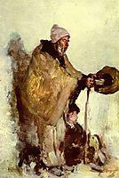 Breton beggar, grigorescu
