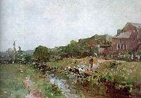 Laundrywoman in Brittany, grigorescu
