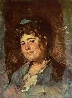 Portrait of Alexandrina Filionescu, grigorescu
