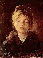 Portrait of a Girl, grigorescu