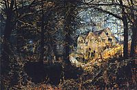 Autumn Glory: The Old Mill, 1869, grimshaw