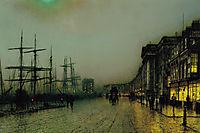 Canny Glasgow, 1887, grimshaw