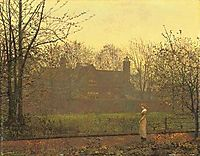 The Chill of Autumn, 1881, grimshaw
