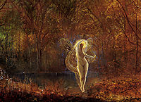 Dame Autumn has a mournful face, 1871, grimshaw