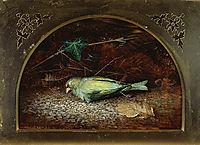 A Dead Linnet, 1862, grimshaw