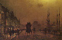 Glasgow Docks, grimshaw