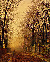 A Golden Beam, grimshaw