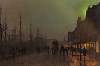 Gourock, Near The Clyde Shipping Docks, grimshaw