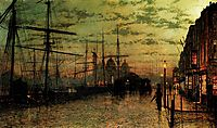 Humber Docks, Hull, grimshaw