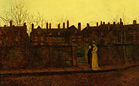 In the Golden Gloaming, 1881, grimshaw