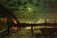 In Peril (The Harbour Flare), grimshaw