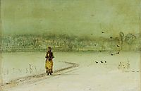 In the winter, grimshaw