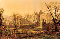 Knostrop Hall, Early Morning, grimshaw