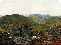 Landscape in the Lake District, grimshaw