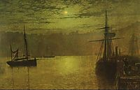 Lights in the Harbour, grimshaw