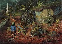 The little botanist, grimshaw