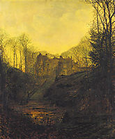 A Manor House in Autumn, grimshaw