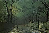 Moonlight After Rain, grimshaw