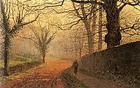 November Afternoon, Stapleton Park, grimshaw