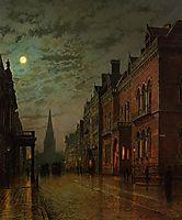 Park Row, Leeds, 1882, grimshaw