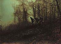 Poachers, 1871, grimshaw