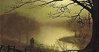 Roundhay lake, grimshaw
