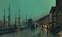 Shipping on the Clyde , grimshaw