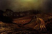 Under The Harvest Moon, 1872, grimshaw