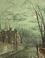 Under the Moonbeams, grimshaw