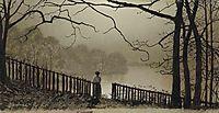 Waterloo Lake Roundhay, Park Leeds, grimshaw