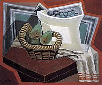 The Basket of Pears, 1925, gris