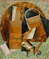The Bottle of Banyuls, 1914, gris