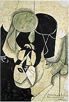 Bullfighter, 1913, gris