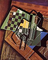 The Checkerboard, 1915, gris