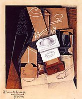 The Coffee Grinder, 1916, gris