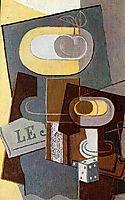 The Dice, 1922, gris