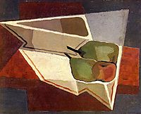 Fruit with Bowl, 1926, gris