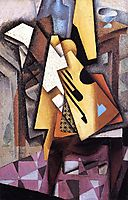 Guitar on a Chair, 1913, gris