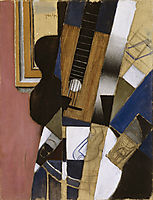 Guitar and Pipe, gris